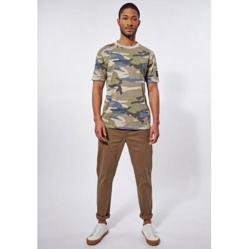 T-shirt imprimé camouflage Kaporal