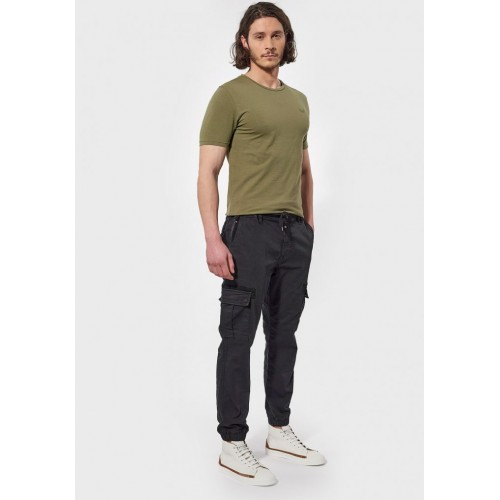 Pantalon hommes cargo noir KAPORAL