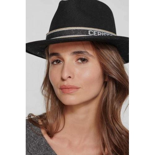 Chapeau femme noir LE TEMPS DES CERISES