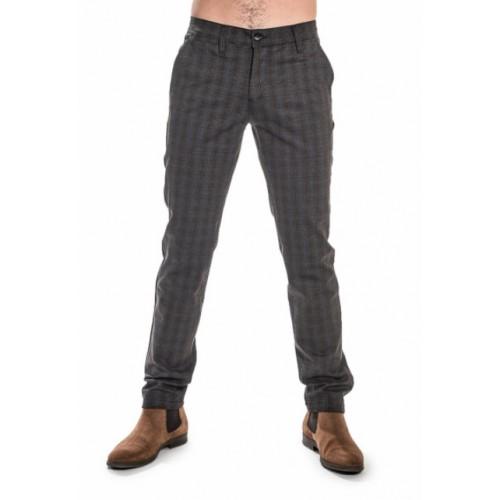 Pantalon homme à carreaux LA CIBLE ROUGE