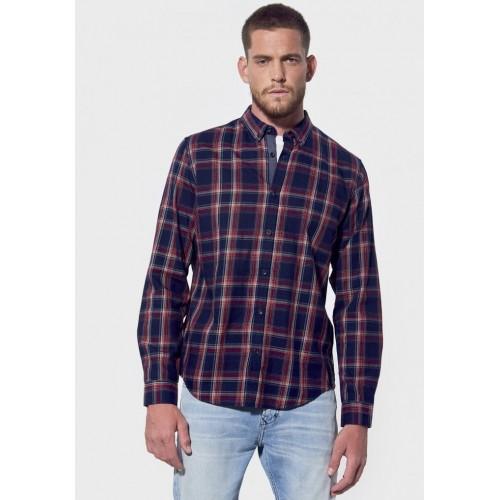 Chemise homme à carreaux régular KAPORAL