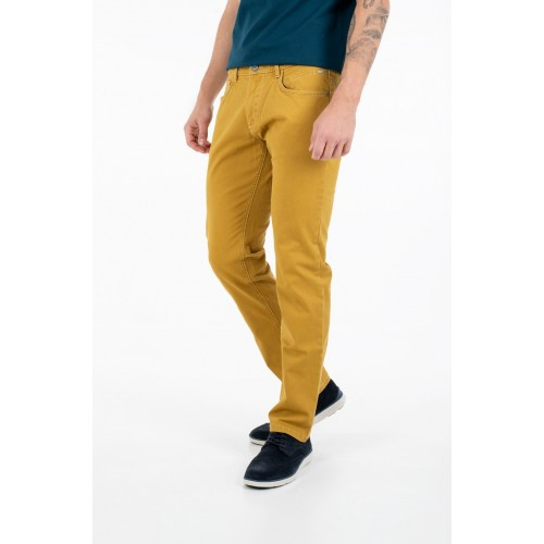 Pantalon homme 5 poches , safran CAMEL ACTIVE